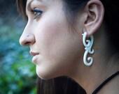 SALE - Bone Earrings - Ma'ayan Curls