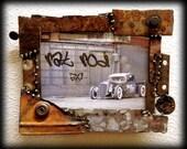 Reserved for Junk YardFinds - Rat Rod Photo Frame 1