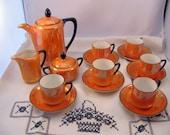 Vintage Childrens Dishes Tea Coffee Set Germany