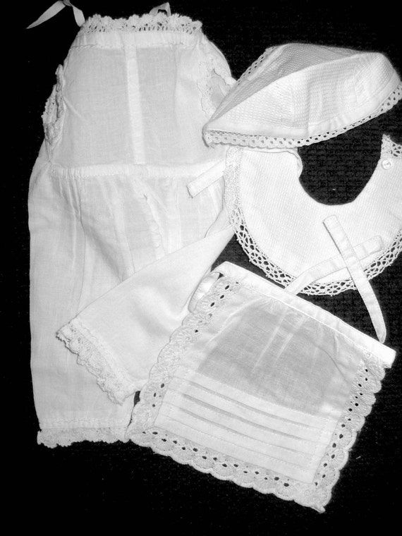 Doll Clothes Apparel Victorian Underwear and Accessories Cotton