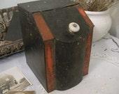 Vintage Metal Bin