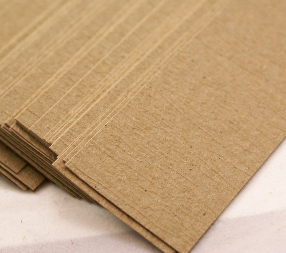 40 TEXTURED Kraft Brown Paper bands - 1 x 11 inch rustic Belly Bands - for soap, candles, packaging, wrapping