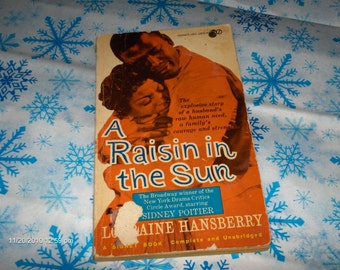 A Raisin in the Sun  by  Lorraine Hansberry -  Paperback - 1966