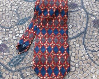 Christian Dior ''Cravate'' Silk Necktie/Tie - Sharp as a tack