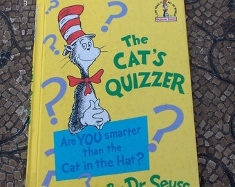 The Cat Quizzer - Are You Smarter than the Cat in the Hat  by Dr Seuss - 1976 Great Condition