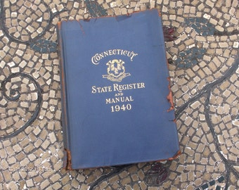 Connecticut State Register and Manual 1940