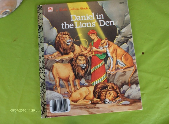 Daniel in the Lions' Den - a Little Golden Book 1987