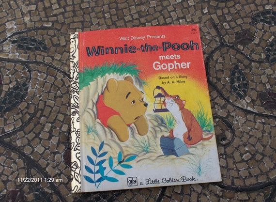Winnie-the-Pooh meets Gopher - Based on a story by A.A. Milne 1976 - Sweet