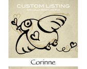 Reserved Listing for Corinne