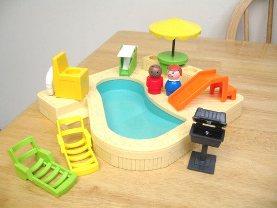 Fisher Price Pool Set Complete
