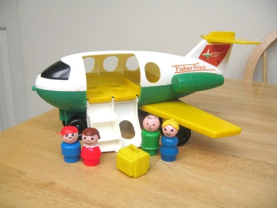 Vintage Fisher Price Fun Jet (2)