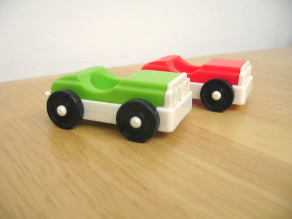 SALE - Vintage Fisher Price Amusement Park Cars