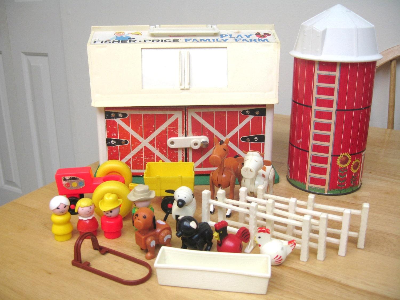Vintage Fisher Price Farm Set 2