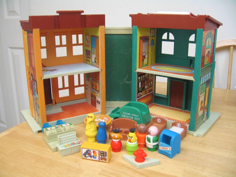 Fisher Price Sesame Street Townhouse Playset