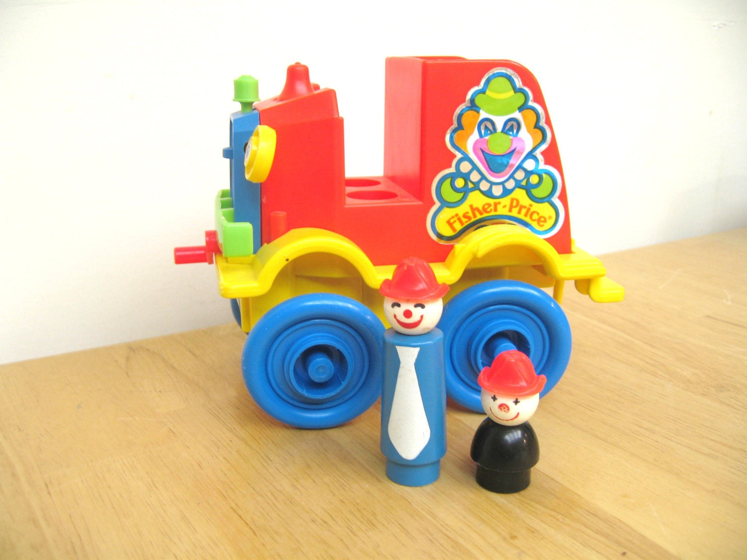 Vintage fisher price crazy clown fire brigade for Clown fish price
