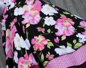 Romantic Floral and polka dots Feliz party dress size 10/12