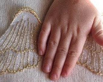 Angel Wings SEW ON applique
