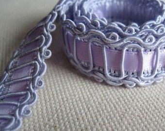 LAVENDER Embellished Ribbon trim