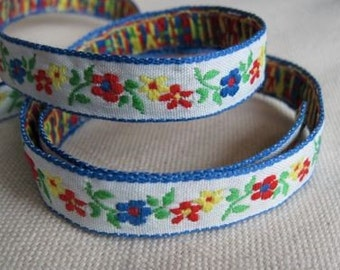 Fileena's Flowers Ribbon on WHITE