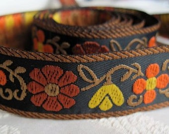 Autumn Garden jacquard ribbon