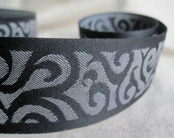 Swirls jacquard Ribbon