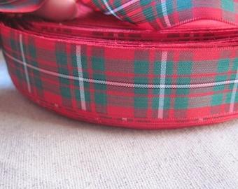 MacGregor tartan Plaid Ribbon large