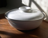 Heath Ceramics large covered bowl
