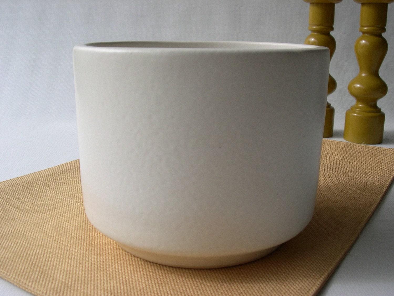 white modern planter  home design styles - gainey ceramics white modern planter