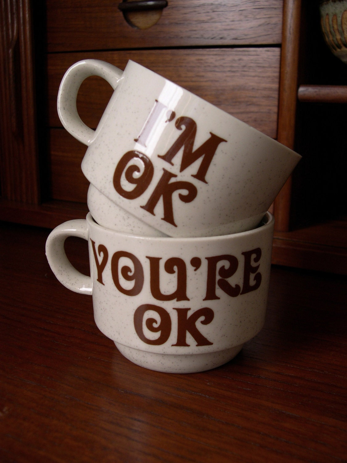 I M Ok You Re Ok Cups Pair