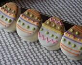 Egg Shaped Handmade S'mores