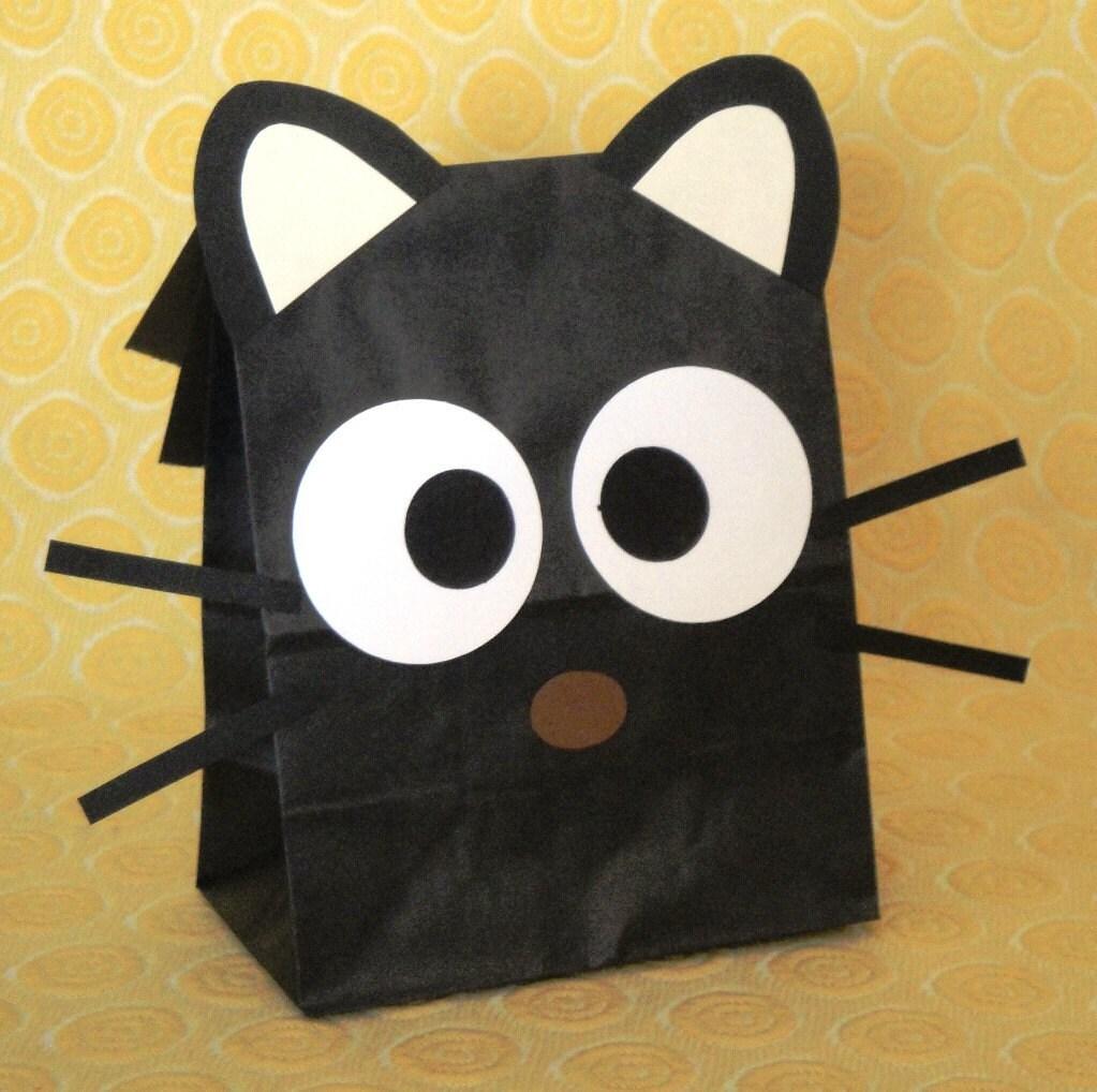 Chococat Treat Sacks Theme Birthday Party Goody Bags By