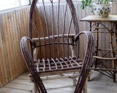 Rustic Birch Bentwood Chair