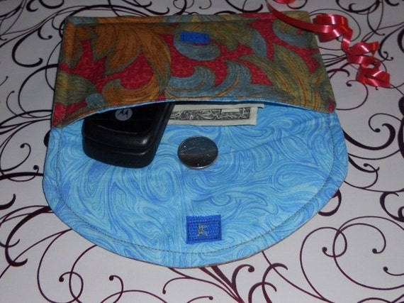 Small Clutch Great for IPod,Cell Phone,Personal Items, Coupons