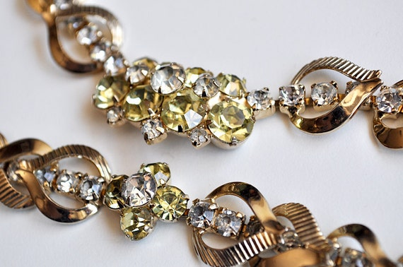 1960s Necklace and Bracelet Sarah Coventry Monte Carlo