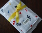 Dalmation Sensation, Swaddling Blanket and Burp Cloth Set