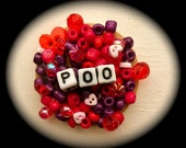 Poo Brooch