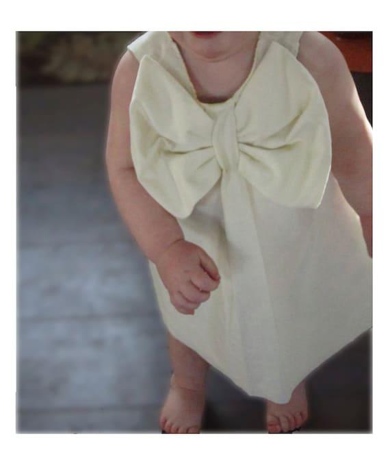 Pretty Bow dress- Sewing pattern