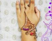 Paarijaat /// Slave Bracelet by Jhumki Luxe - designs by raindrops