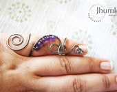 BESPOKE Trupla II /// a cocktail Ring by Jhumki Luxe - designs by raindrops