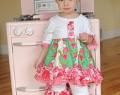 Tunic set from the Isabella collection, sizes 12/18 months, 2T, 3T, and 4T