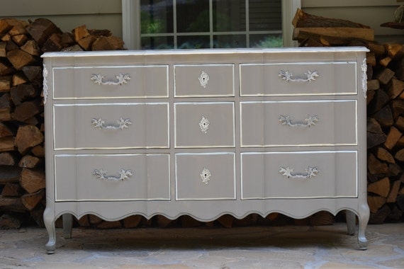 Antique Vintage Hand painted Incredibly cool Dresser