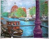 Amsterdam Canal  print