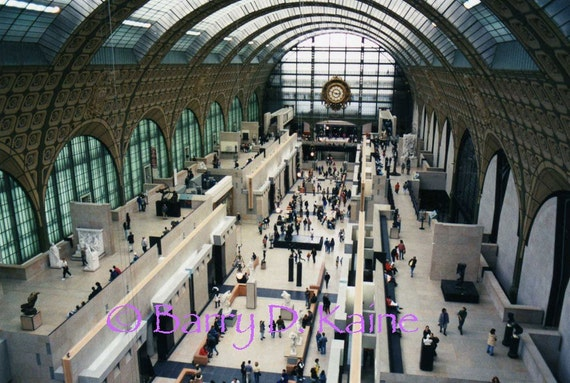 Museum D'Orsay (main hall) print