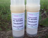 ORGANIC, ALL Natural Deodorant, Aluminum/Chemical FREE, Organic Skin Soothing Butters, Choose your Organic Essential Oils