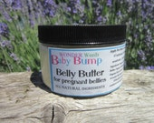 100% CERTIFIED ORGANIC Belly Butter, ALL Natural, 4oz size