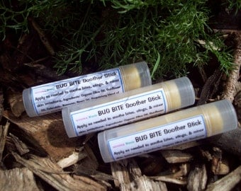 Bug Bite Soothing Stick, ALL NATURAL, with Calendula, Neem Oil and Organic Essential Oils