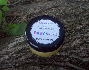 ORGANIC Baby Butter,  Perfect for Newborns, 100% NATURAL, Pure Soothing Goodness, Multi-purpose, 2 OZ.