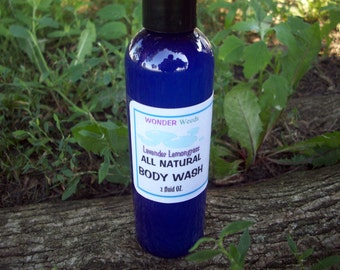 16oz Natural Body Wash, GENTLE, All skin types, Choose your own ORGANIC Essential Oils