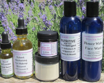 ULTIMATE Face Care Set, ALL Natural and/or ORGANIC Ingredients