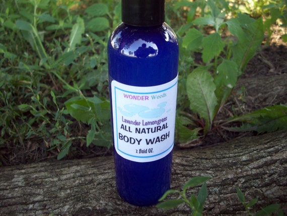 Natural Body Wash, GENTLE, All skin types, Choose your own ORGANIC Essential Oils